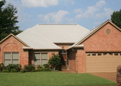 Owens Corning Shingle Roof - Shasta White